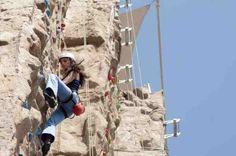 La escalada es una actividad que te reta  a resolver tus problemas personales.