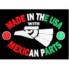 With Mexican Parts