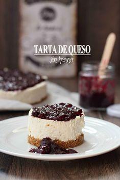 Tarta de queso sin horno {by Paula, Con las Zarpas en la Masa} Sweet Cooking, Cake & Co, Mini Pies, Pastry Cake, Ice Cream Recipes, Chocolate Recipes, Deli, Easy Desserts, Bakery