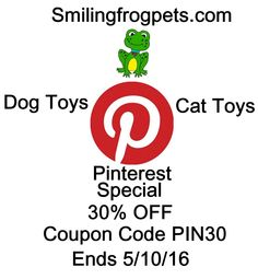 20 best pet contests coupons give aways images on pinterest coupon the smiling frog pets handmade cat dog toys by smilingfrogpets fandeluxe Gallery