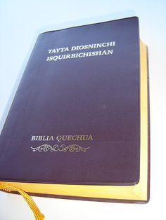 Quechua Bible / Biblia Quechua / Tayta Diosninchi Isquirbichishan / QUECHUA DEL HUALLAGA, Huanuco (Pillcu Quechua) QHUALL052P / Full color illustrations