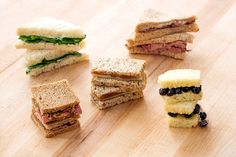 Check out these 5 tasty takes on the tea sandwich.