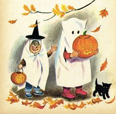 """""""Our World of Color and Sound"""". By Renee Bartkowski. Illustrations by Marjorie Cooper. Rand McNally Start Right Elf Book, 1967 Halloween vintage Vintage Halloween Images, Retro Halloween, Halloween Prints, Halloween Pictures, Vintage Holiday, Holidays Halloween, Spooky Halloween, Happy Halloween, Halloween Decorations"""