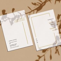 Wedding stationery d