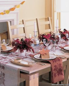 Festive Thanksgiving Table Setting Ideas for Every Budget. #festive #budget #decor