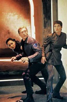"""Enterprise """"Broken Bow"""" Season 1 - Hoshi, Trip and T'Pol"""