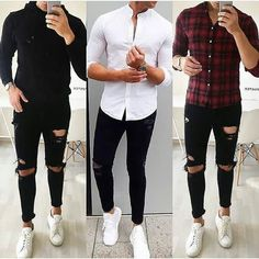 43 Best Ideas For Moda Hombre Casual Fashion Beards Stylish Mens Outfits, Casual Outfits, Men Casual, Fashion Outfits, Fashion Hair, Fall Outfits, Mode Man, Mein Style, Herren Outfit