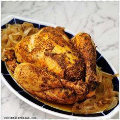 Cocina sin prisas - Pollo asado en olla lenta