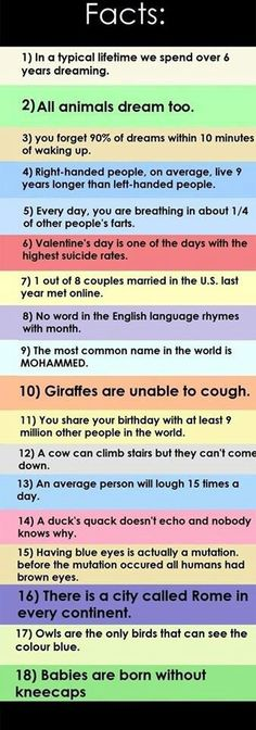 First off, CRAP!!! To number 4. And second, i didn't need to know number 5.