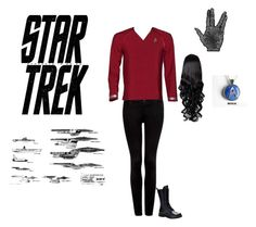 """""""star trek"""" by angelrocky ❤ liked on Polyvore featuring Forever New, Karl Lagerfeld, VesseL, women's clothing, women, female, woman, misses and juniors"""