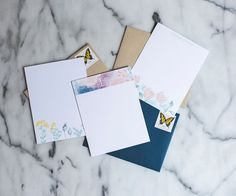 stationery designs from Lou & Letter Paper co.