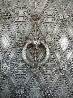 """Detail of door """"Kasteel De Haar"""""""