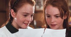 OMG: Pictures of Lindsay Lohan's 'Parent Trap' body double have surfaced and here's what she looks like Lindsay Lohan, Movies Showing, Movies And Tv Shows, Parent Trap Movie, Best Friend Soul Mate, Emperors New Groove, Raising Twins, Friends Instagram, Lady And The Tramp
