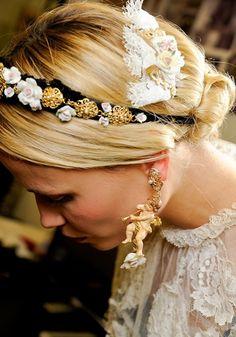 Hair Accessories: Dolce & Gabbana 2012