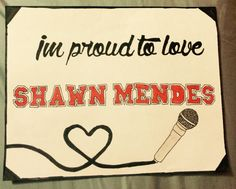 I will always be proud of Shawn! He is absolutely amazing and will continue to inspire me! Simple drawing but took a while for details! LOVE SHAWN FOREVER!