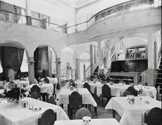 The interior of Shiseido ice-cream parlor, 1935-1940, Kenjiro Maeda, architect. CG video of this building at http://www.youtube.com/watch?v=bBIbJpvY7vo=player_embedded