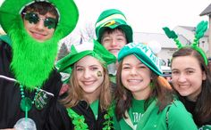 Get your green on!! St. Patrick's Day parade in Dublin Ohio.