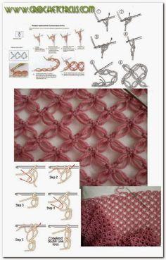 FIFIA CROCHETA crochet blog: ALL ABOUT THE SECRET POINT