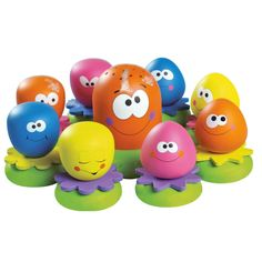 Poulpy et ses amis Multicolore de Tomy, Jouets de bain : Aubert