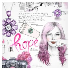 """Love&Hope"" by totwoo ❤ liked on Polyvore featuring art"