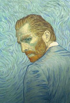 Loving Vincent - a story depicted in oil painted animation, a young man comes to the last hometown of painter Vincent van Gogh to deliver the troubled artist& final letter and ends up investigating his final days Hd Movies, Movies To Watch, Movies Online, Films, Movie Tv, Movies Free, Fleurs Van Gogh, Desenhos Van Gogh, Oil Paintings