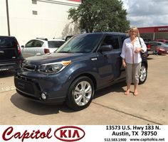https://flic.kr/p/Fn7vP9 | #HappyBirthday to Lisa from Ivan Rodriguez at Capitol Kia! | deliverymaxx.com/DealerReviews.aspx?DealerCode=RXQC