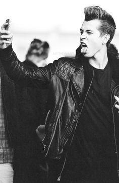 James McVey. lol selfie.