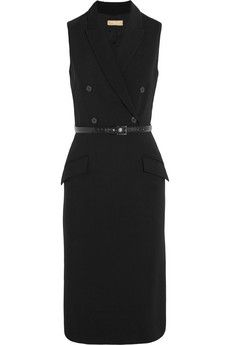 Michael Kors Wool-blend crepe dress | NET-A-PORTER