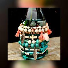 Beads & Ibiza = summer   Ibizastyle bracelets by Sassy Beads ❤