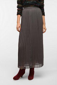 Sparkle & Fade Pleated Chiffon Skirt