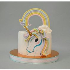 "Páči sa mi to: 1,322, komentáre: 1 – #No.1 Nigerian Cake Blog (@cakebakeoffng) na Instagrame: ""Unicorn Rainbow Magic.... BEAUTIFUL Cake via @krisdekorator #Cakebakeoffng #CboCakes…"""