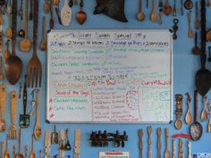 Além do cardápio, no The Wooden Spoon, você pode optar pelos pratos do dia!