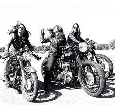 cafe racer girls