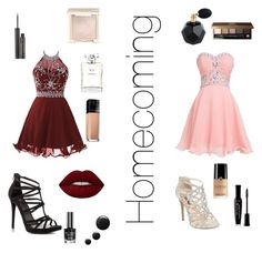 """""""Homecoming w/ Kay"""" by savannahtaylor950 on Polyvore featuring INC International Concepts, ALDO, Lime Crime, Maybelline, Chanel, Jouer, Bourjois, Bobbi Brown Cosmetics and Elizabeth Arden"""