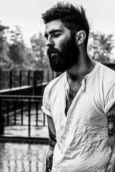 flickr-beard-power: Beard and tattoo! Follow: http://flickr-beard-power.tumblr.com/