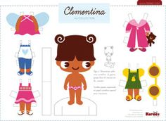 Fantastic Find: 10 Cute Printable Paper Dolls