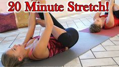 20 Minute Stretches for Hip & Back Pain, How to Stretch for Beginners, H...