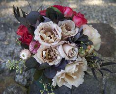 Bridesmaid's bouquet for a country garden wedding