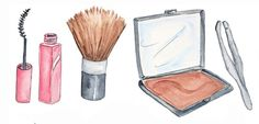 makeup products drawing tumblr - Google Search
