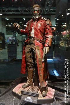 Guardians of the Galaxy Hot Toys.  This one looks amazing.  Star Lord.  Might have to get these.  LOVE the movie.
