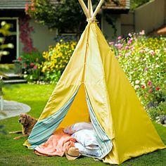 How to make a backyard tepee