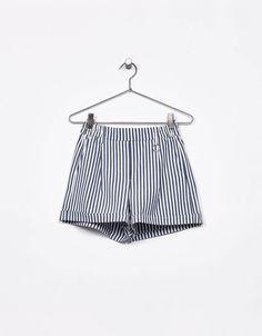 Bermuda tailoring aro metalizado - Shorts - Bershka España