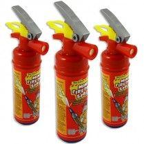 1 Feuerlöscher Candy Spray, Cola, Erdbeer oder Himbeer, 12,5cm, Mitgebsel zum Feuerwehr-Geburtstag