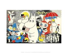 The Moomins Comic Cover 1 Poster by Tove Jansson at AllPosters.com