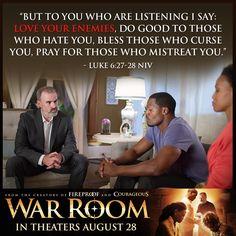War Room: Kendrick Brothers Christian Movie/Film - Banner 5