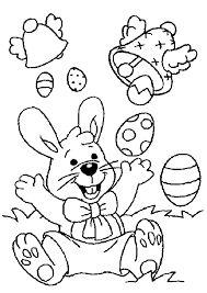 """Résultat de recherche d'images pour """"coloriage lapin de paques"""""""
