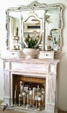 Mantel (from Faded Bluebird at Home )