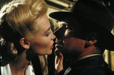 Indiana Jones and the Last Crusade Indiana Jones (Harrison Ford) is hypnotized by Dr. Elsa Schneider (Alison Doody).