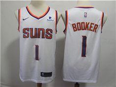 49c59c160 Phoenix Suns  1 Devin Booker White Swingman Jersey