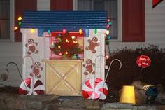 Image result for gingerbread playhouse